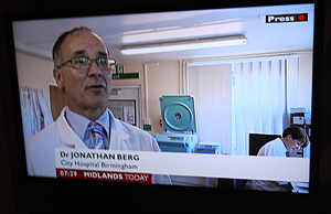 Azathioprine on BBC News