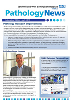 SWBH Pathology News
