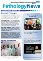 SWBH Pathology TV News November Special Laboratpry Edition